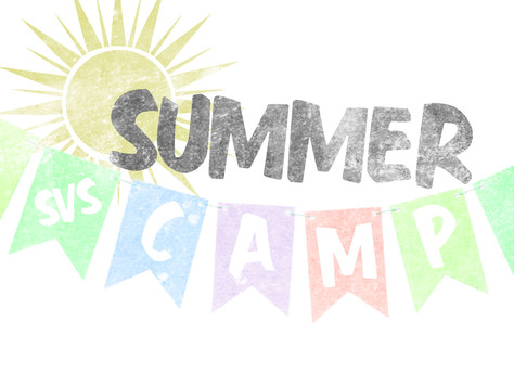 Camp SVS is back for another summer of fun learning!!
