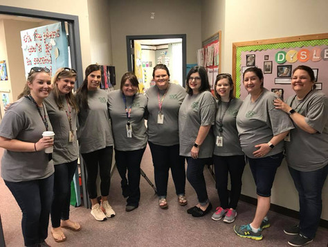 We LOVE our Faculty T-shirts!