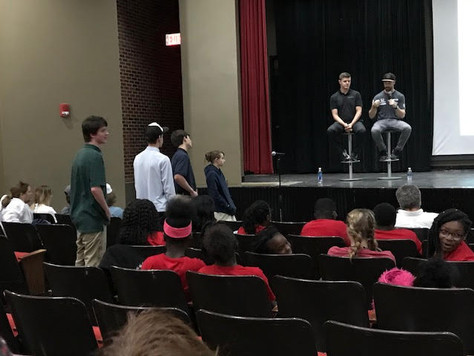 SVS students asked the most thought provoking questions at Honda STEAM Connections Tour in Tuscaloos