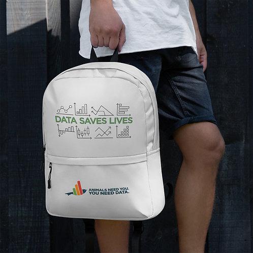 Data Saves Lives Backpack