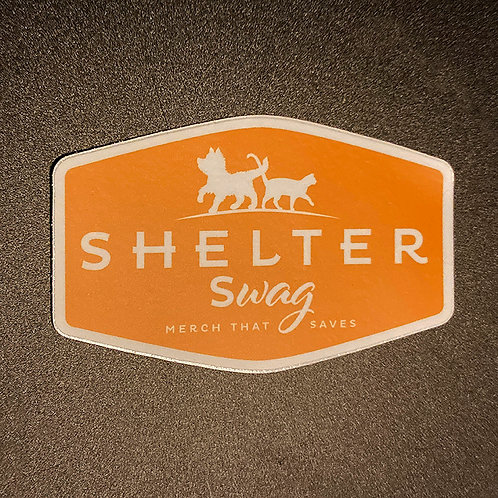 Shelter Swag Decal