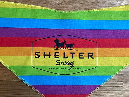 Shelter Swag Rainbow bandannas