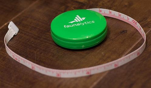 Faunalytics Pocket Tape Measure