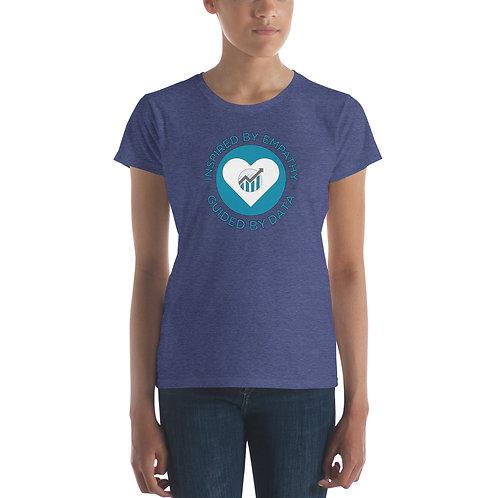 Inspired By Empathy Women's short sleeve t-shirt