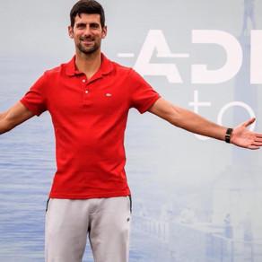 Declaraciones de Novak Djokovic tras saber que tiene Covid19