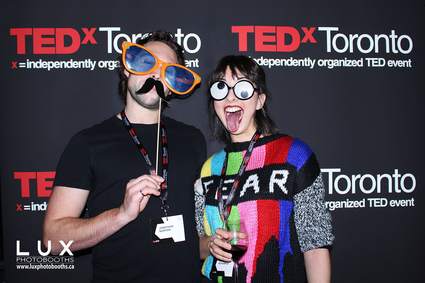 Toronto Photo Booth Rental at TedX