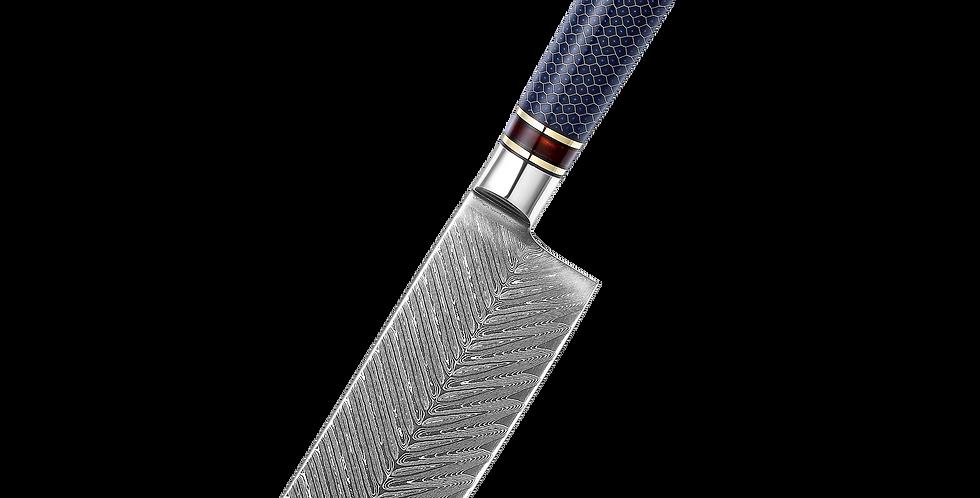 Cuchillo Mango Panal Nakiri Kinzoku