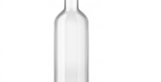 Botella para Jugo en Vidrio con Tapa 750 ml