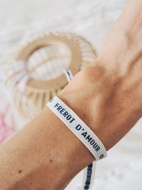 """Bracelet """"FREROT D'AMOUR"""""""