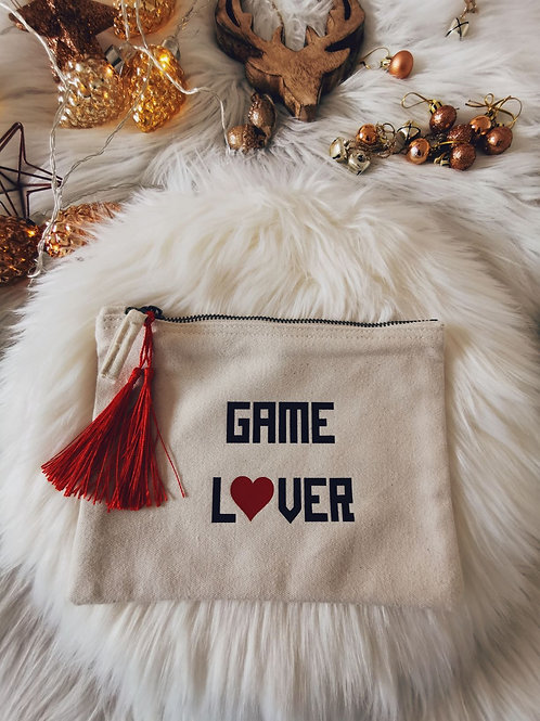 Trousse Message GAME LOVER