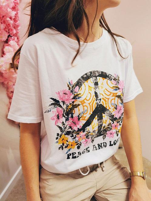 T-shirt PEACE&LOVE