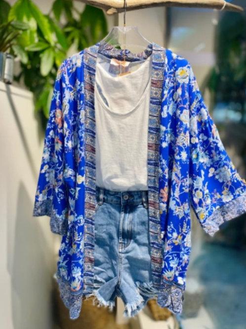 Kimono BALI Bleu