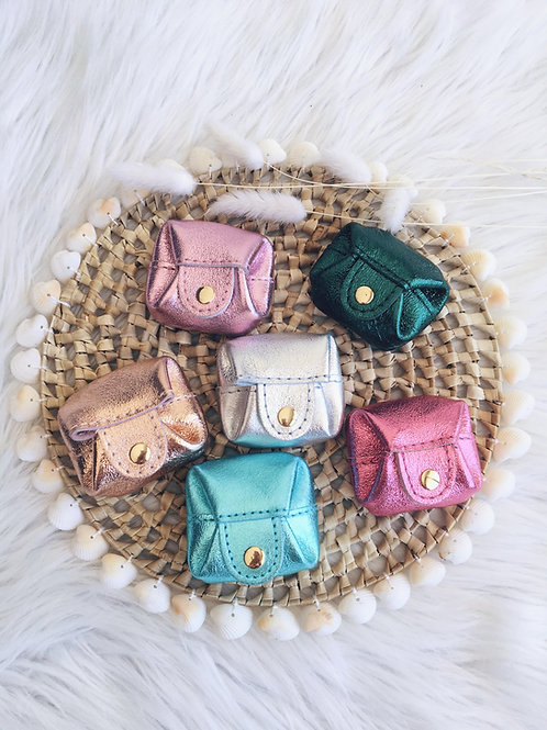 Porte monnaie GRENOUILLE (9 couleurs au choix)