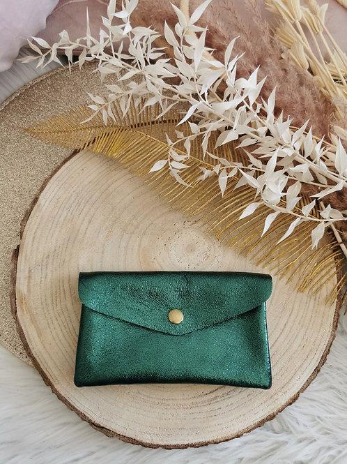 Portefeuille SMITH (vert sapin)
