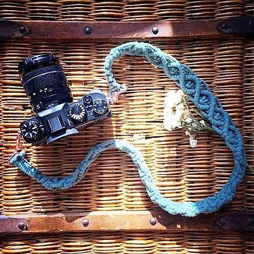 Sangle pour appareil photo en Macramé