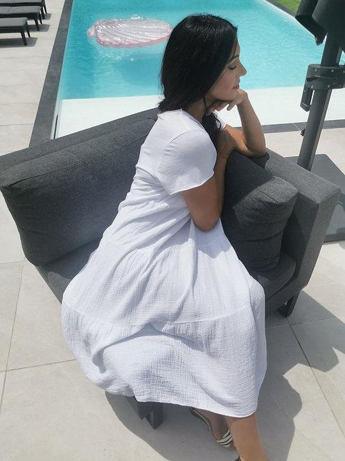 Robe LOU Blanc