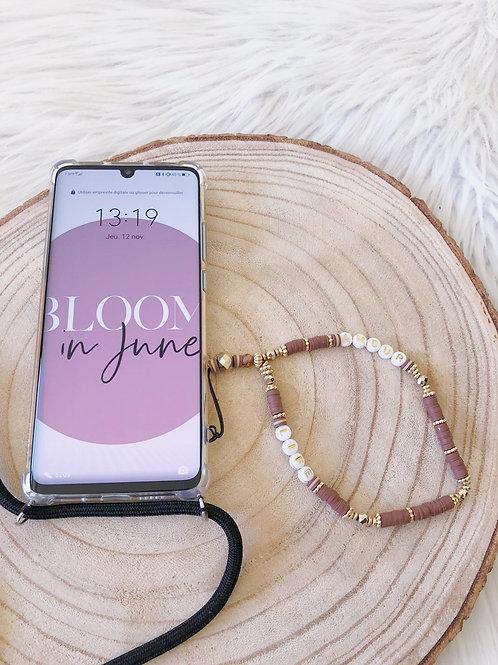 Bracelet Perles Téléphone AMOUR / LIFE