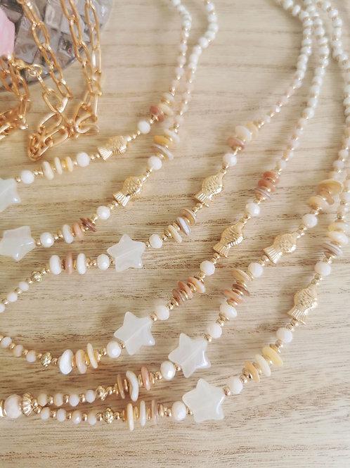 Collier bijoux de téléphone ETOILE / POISSON