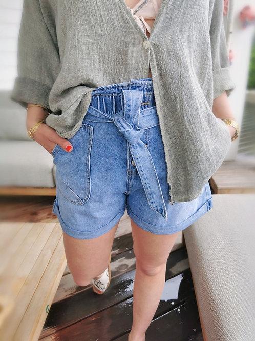 Short MALLORIE Blue Jean