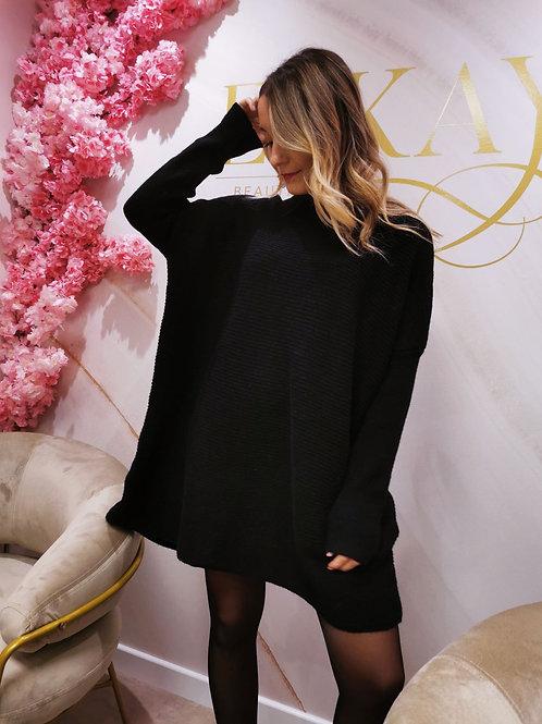 Robe Pull PRISCILLA (noire)