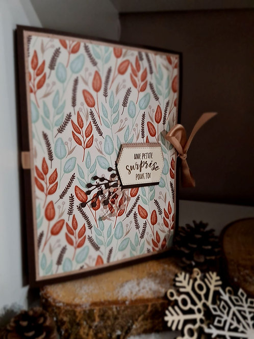 Album 6 Photos Scrapbooking AUTOMNE D'OR