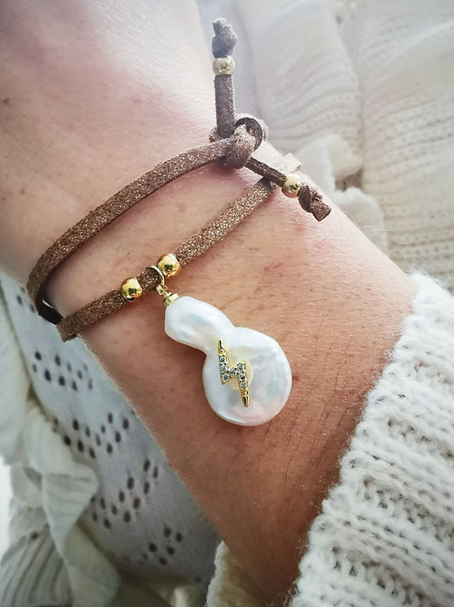 Bracelet suédine ECLAIR