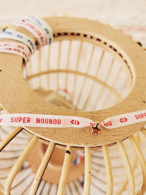 "Bracelet ""SUPER NOUNOU"""