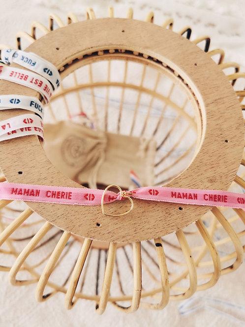"Bracelet ""MAMAN CHERIE"""