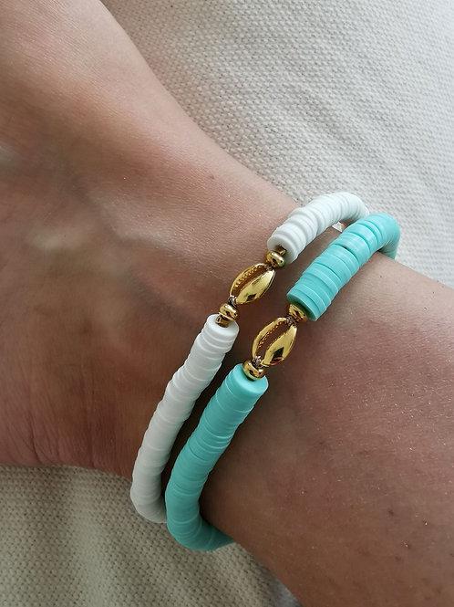 Bracelet MALIBU Bleu Lagon