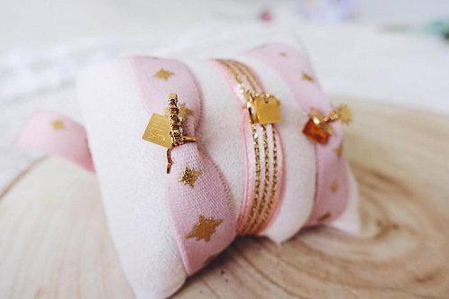 Ribbon Bracelets ROSE