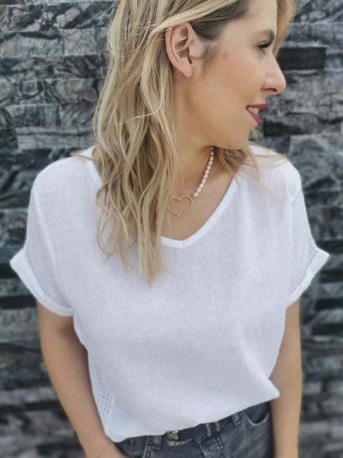 T-Shirt NINON Blanc