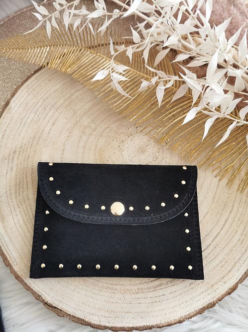 Porte papiers / cartes BRUCE (noir)