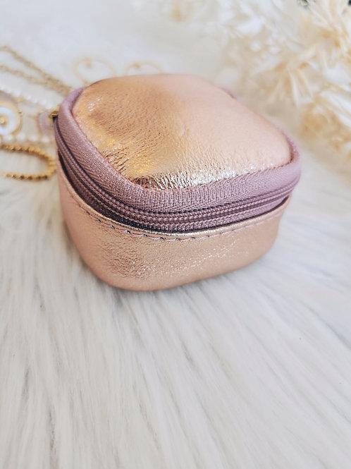 Boîte à bijoux TEDDY (rose gold)
