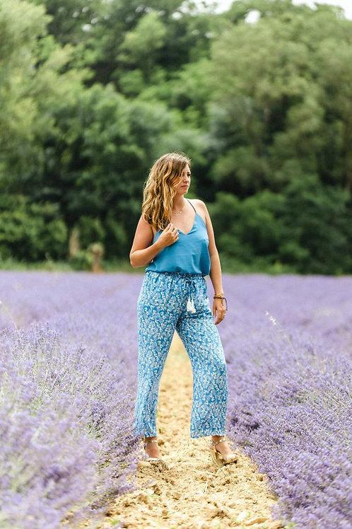 Pantalon MADDIE Bleu