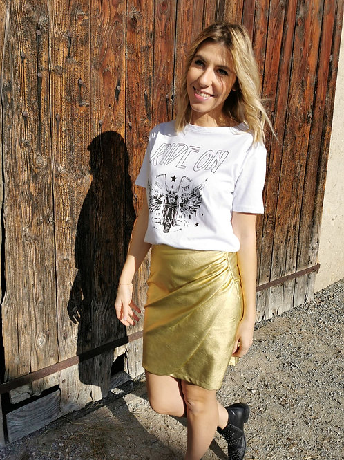 Jupe Gold CONSTANCE