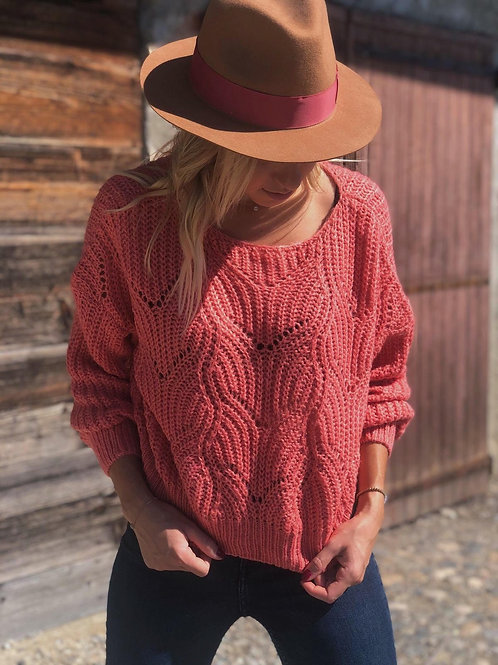 Pull LOIS Rose Corail