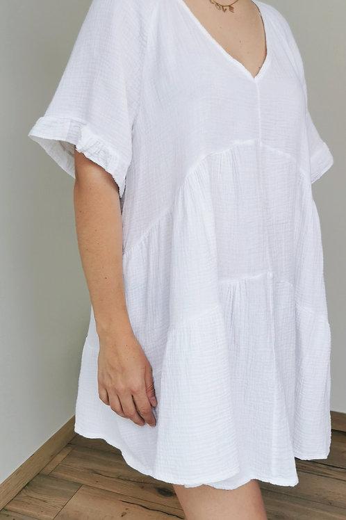 Robe PAULINE Blanc