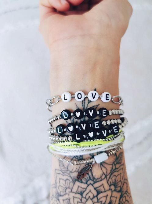 Bracelet LOVE SILVER