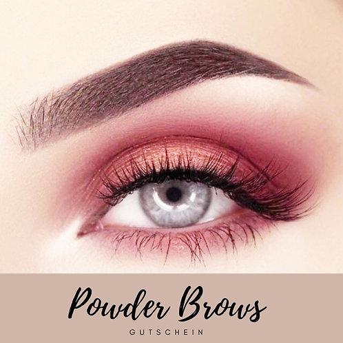 Powder Brows 3 D Schattierung