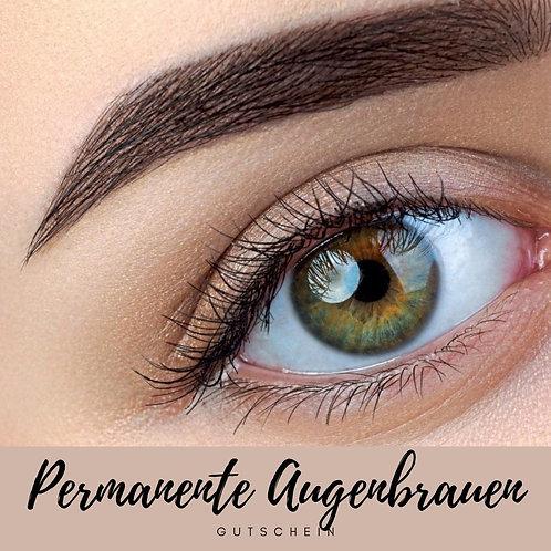 Permanente Augenbrauen Härchenzeichnung
