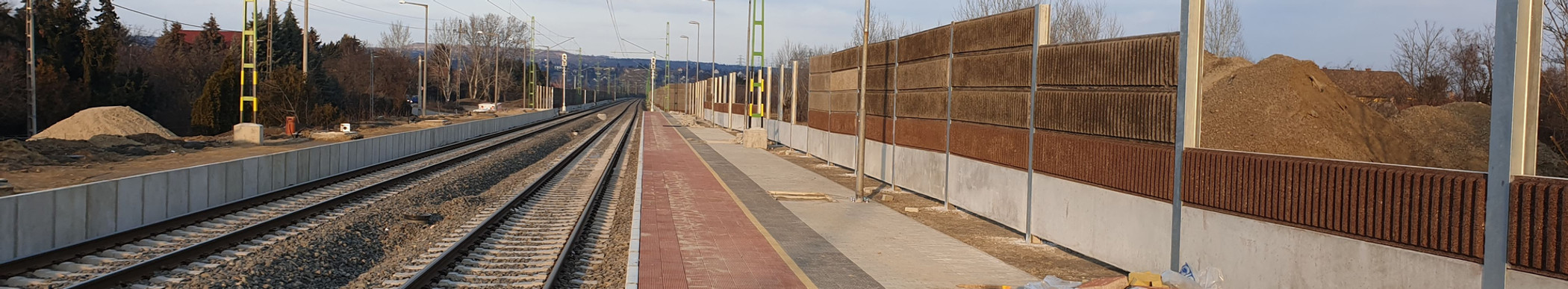 Zajvédelmi falak építése