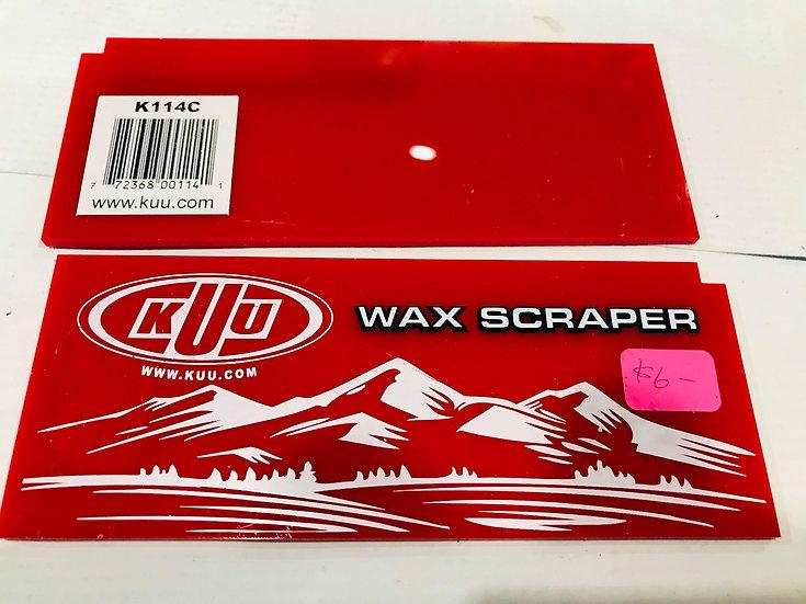 KUU WAX SCRAPER 3mm