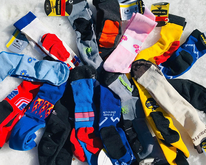 DeFEET CLOSE OUT SOCKS 5 & 10 PACK