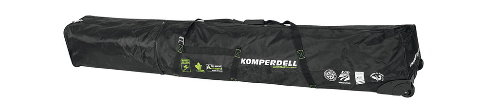 KOMPERDELL NATIONAL TEAM EXPANDABLE POLE & SKI BAG WITH WHEELS