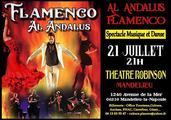 AL ANDALUS FLAMENCO NUEVO  MANDELIEU CAN
