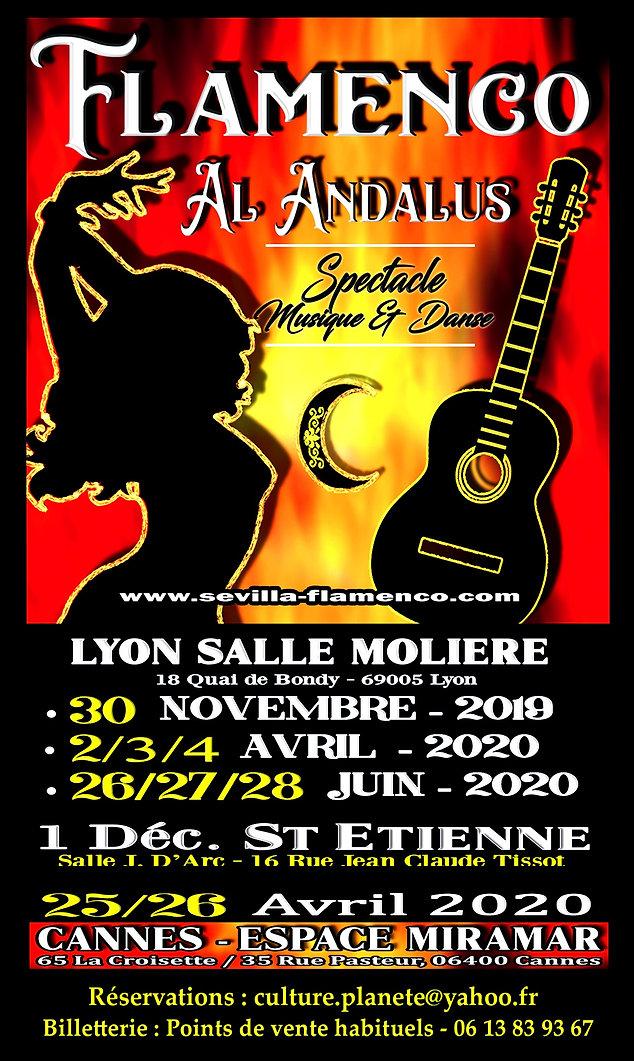 AL NDALUS FLAMENCO NUEVO - DATES TOUR 20