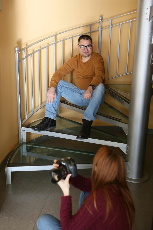 Durante lo scatto fotografico, durante il workshop, la fotografia, la pratica e l'identità, con Loredana Denicola