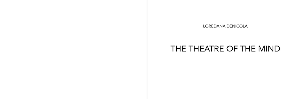 'The Theatre of the Mind' ARTBOOK (2 pages layout book made with Indesign). Click on to see a random preview.