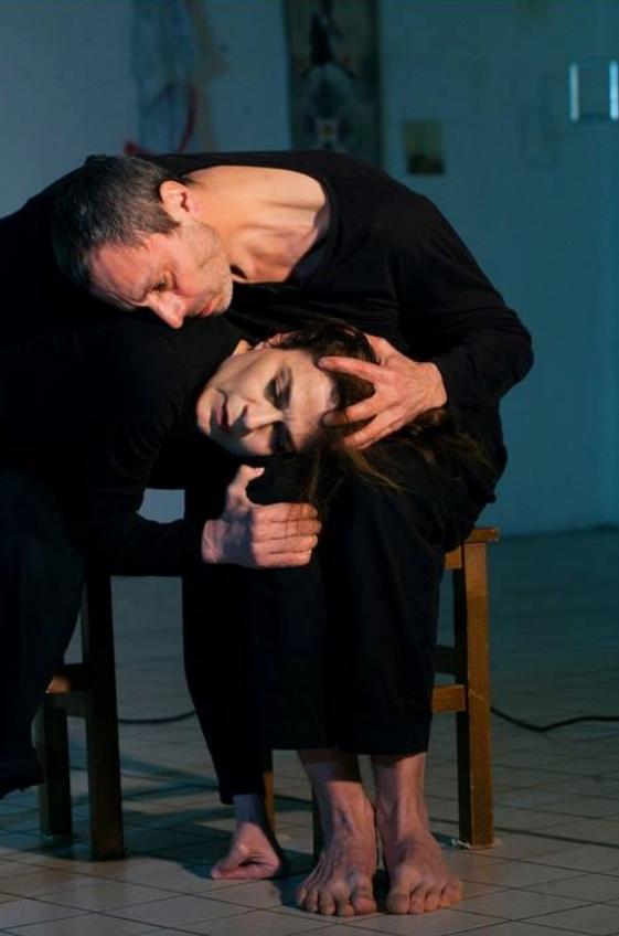 Dance/performance, Angst, la Capela, Paris, France