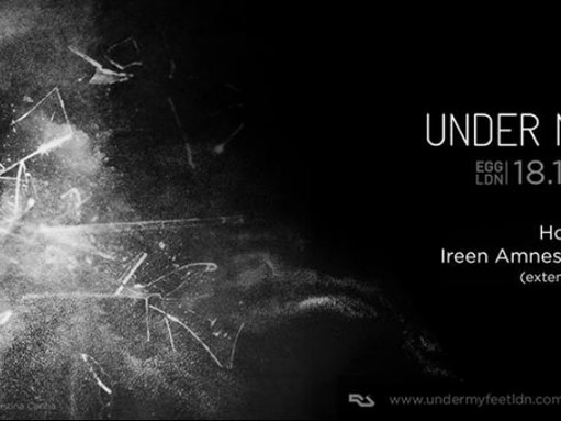 Showing my artwork @ Under my Feet, the Waiting Room, Dalston, London